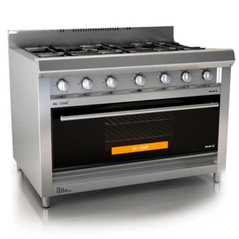 Cocina semi industrial manixshop for Cocina gas profesional